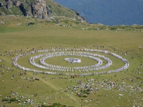Univerz. Biele Bratstvo v bulharskom pohorí Rila