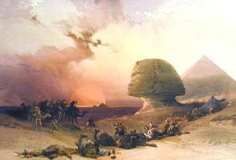David Roberts, 1838