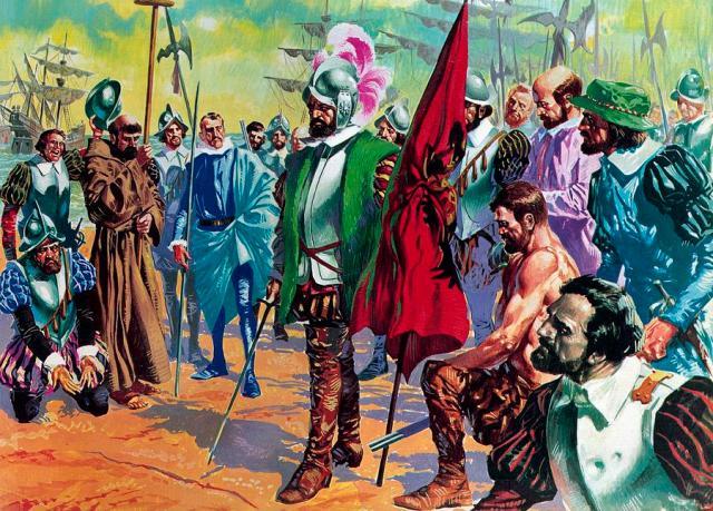 hernando-cortes-arriving-in-mexico-in-1519-english-school