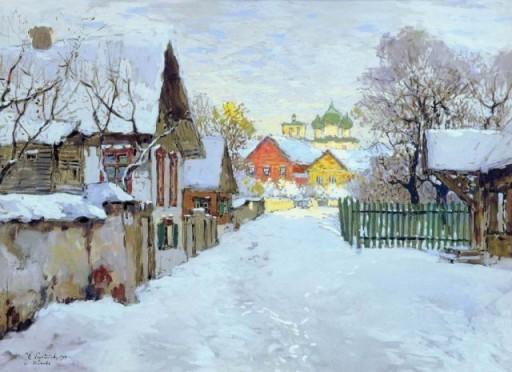 02_Зима. Оттепель 1910г