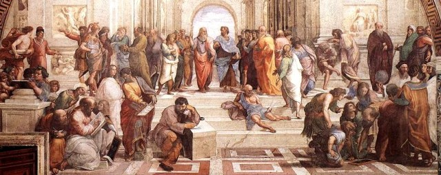 Philosophy -SchoolOfAthensDetail