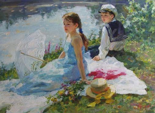 063_Vladimir Gusev [Владимир Гусев] 1957 - Russian painter - Tutt'Art@ (77)