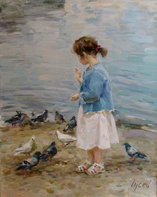 018_Vladimir Gusev [Владимир Гусев] 1957 - Russian painter - Tutt'Art@ (22)