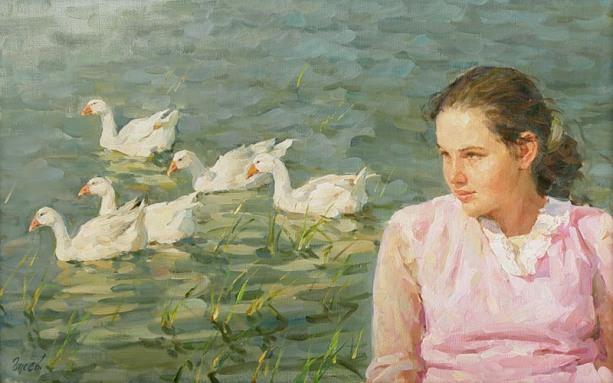 058_Vladimir Gusev [Владимир Гусев] 1957 - Russian painter - Tutt'Art@ (71)
