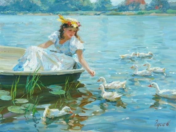 057_Vladimir Gusev [Владимир Гусев] 1957 - Russian painter - Tutt'Art@ (70)