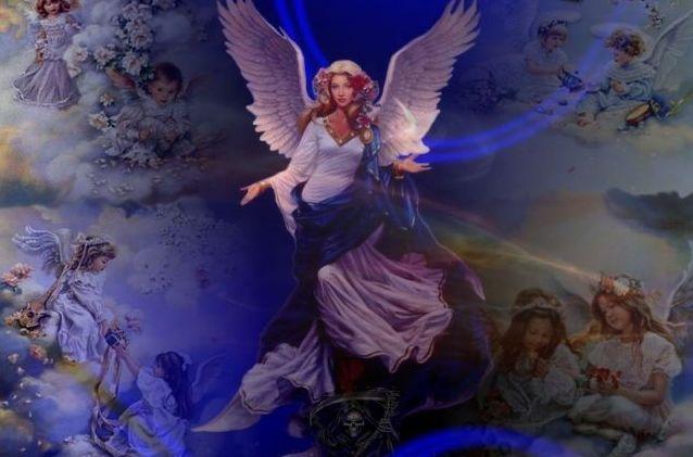 kresleny-anjel,-kreslena-zena,-kralovna,-kolaz-148368 - kópia